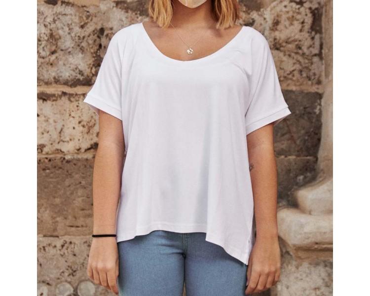Camiseta DREAM cuello pico Personalizada con Bolsillo