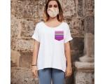 Camiseta HOLLIE Personalizada con Bolsillo